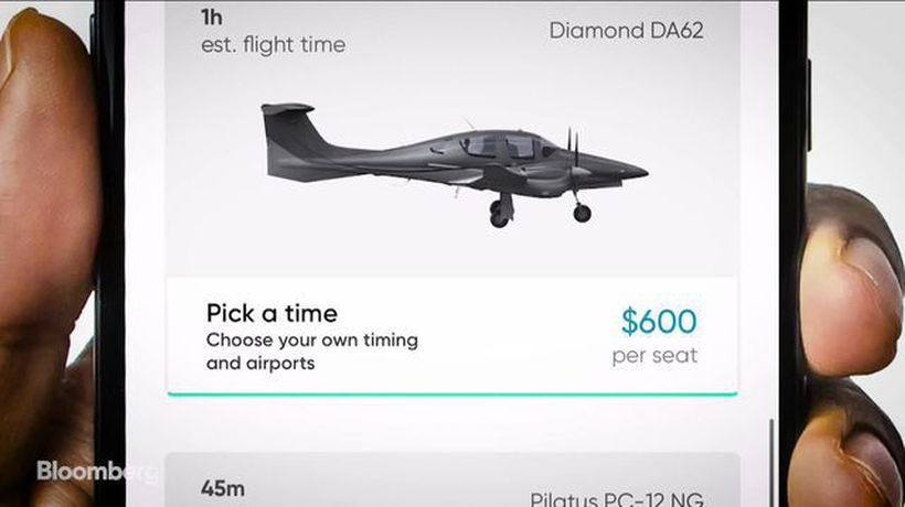 Bloomberg Technology - The Future of Flight-Hailing