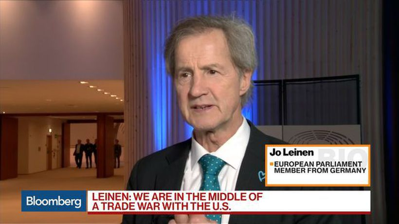 Bloomberg Markets: European Close - Trump Tariffs on EU Could Lead to Trade War, Leinen Says