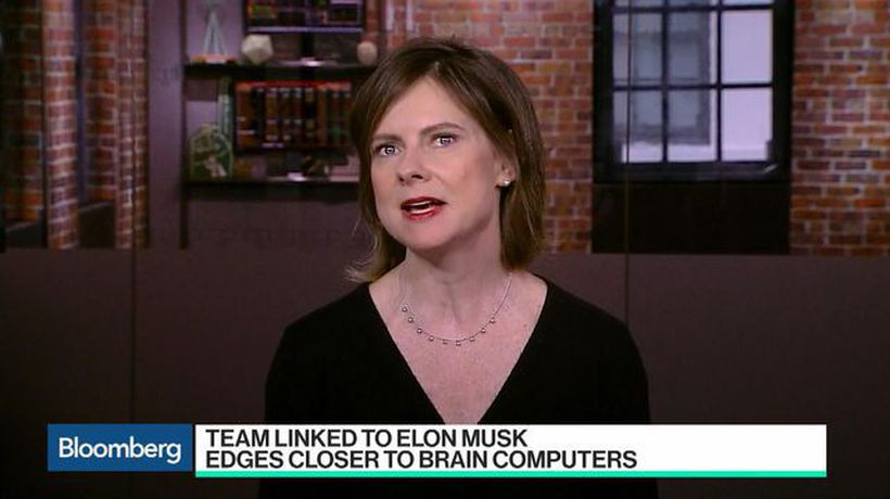 Bloomberg Technology - Musk-Linked Team Outlines System to Monitor Brain Activity