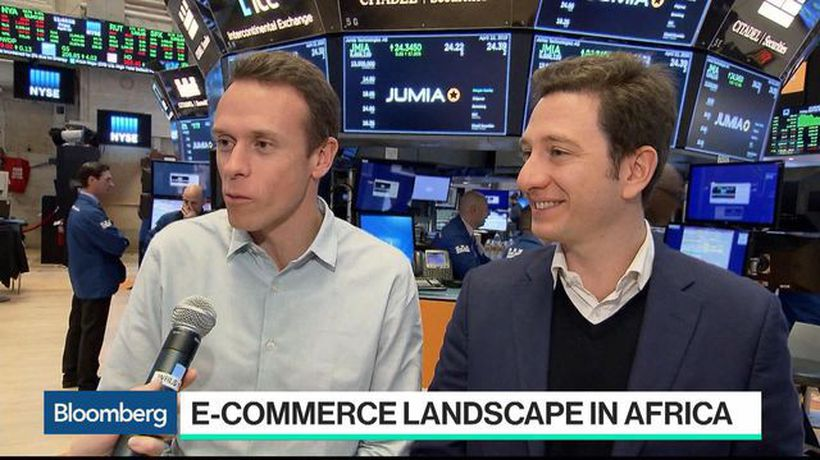 Bloomberg Technology - Jumia Jumps on NYSE Debut as Africa's Amazon Goes Public