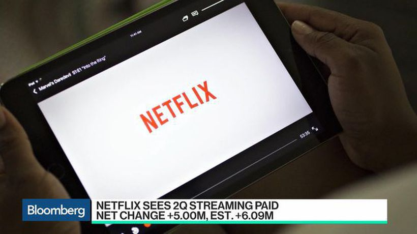 Bloomberg Technology - Netflix Subsciber Forecast Rattles Investors as Disney Looms