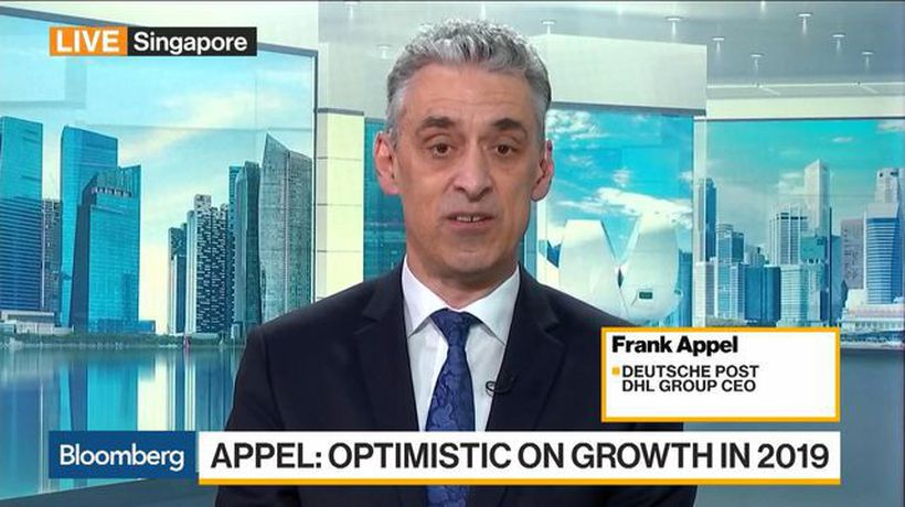 Bloomberg Daybreak: Asia - 2019 Will Be Another Good Year Overall for Deutsche Post DHL Group, Says CEO