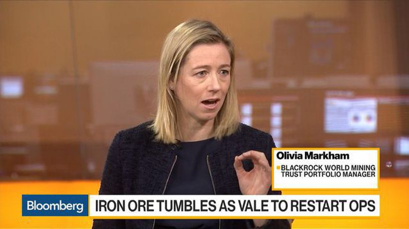 Bloomberg Daybreak: Europe - We're In the Eye of the Storm Right Now for Iron Ore Prices, Says BlackRock's Markham