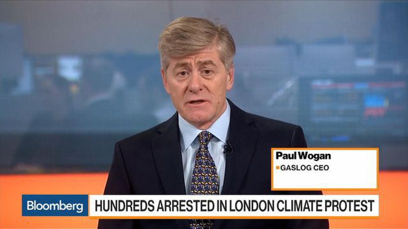 Bloomberg Markets: European Open - GasLog CEO on Climate Protests, Goals, LNG, Shipping Costs