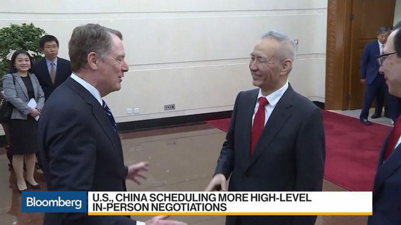Bloomberg Daybreak: Australia - U.S., China Said to Aim for Trade Deal Announcement in Early May