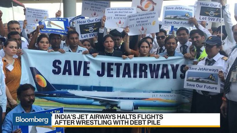 Bloomberg Daybreak: Asia - India's Jet Airways Halts All Flights