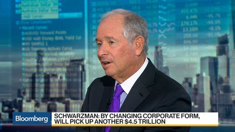 Bloomberg Daybreak: Americas - Blackstone Handicapped Ourselves With Corporate Form, Schwarzman Says
