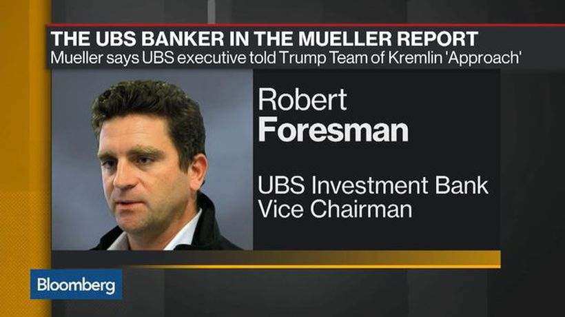 Bloomberg Daybreak: Americas - The UBS Banker in the Mueller Report