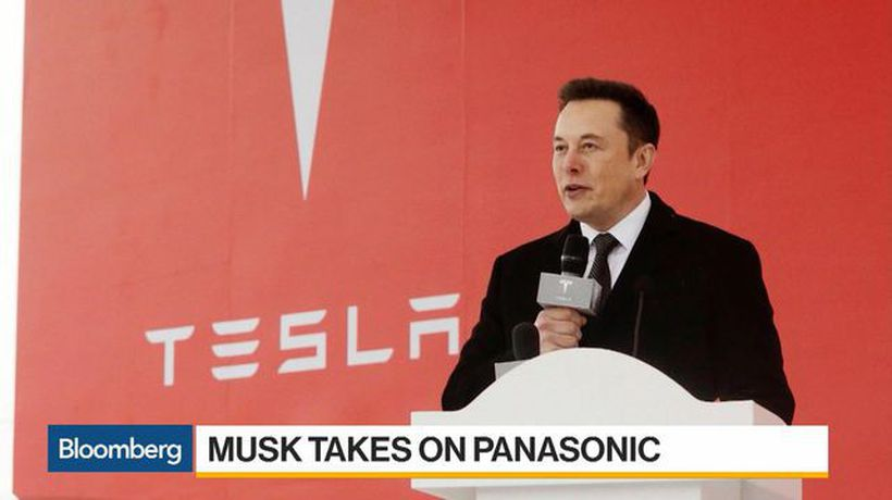 Bloomberg Daybreak: Americas - Musk Takes Aim at Panasonic Over Tesla Battery Production
