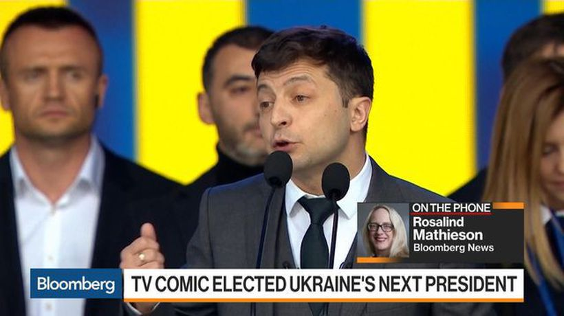 TV Comic Elected as Ukraine's Next President
