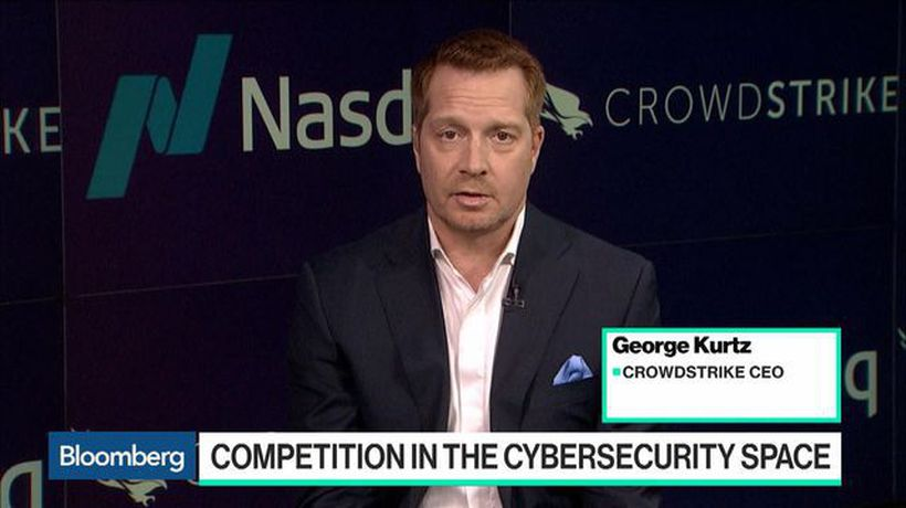 CrowdStrike CEO on Trading Debut and Cyber Threats