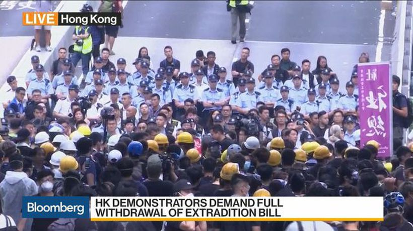 H.K. Democratic Party's Wu on Extradition Bill, Protests