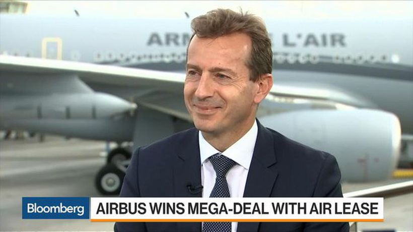 Airbus CEO Faury Sees 'Lots of Orders' at Paris Air Show