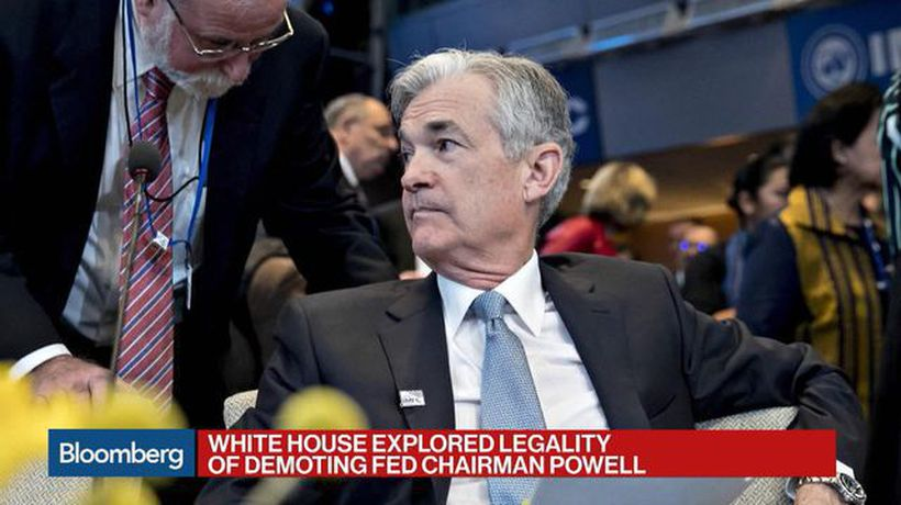 White House Explored Legality of Demoting Powell
