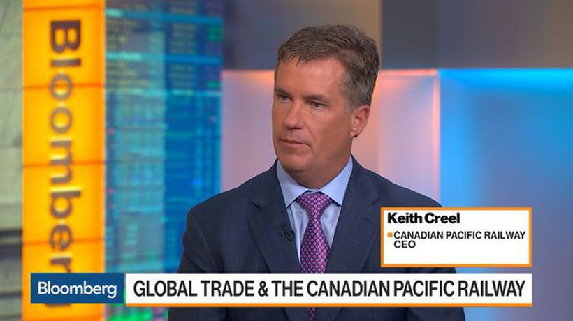 Canadian Pacific Railway Insulated From Trade Tensions, CEO Creel Says
