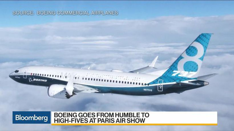 Boeing, 737 Max Win Big at Paris Air Show