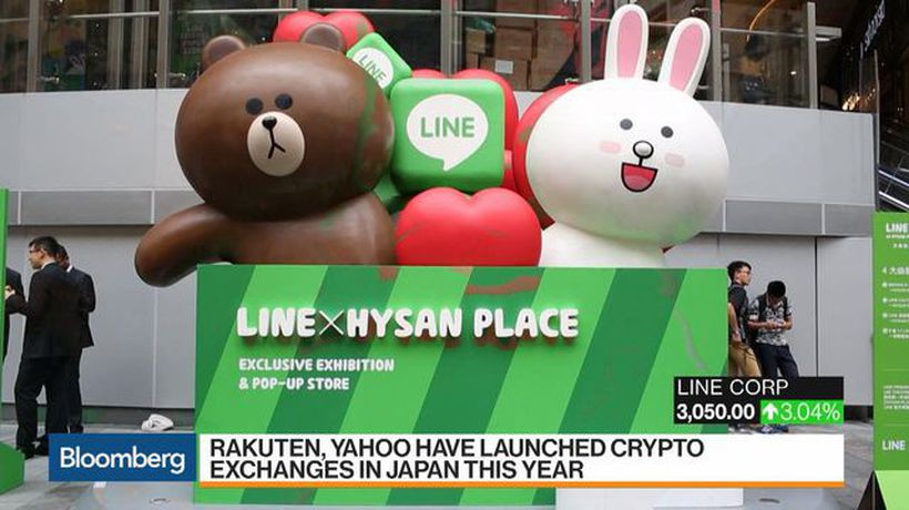 Japan's Line Said Near Approval of License for Crypto Exchange