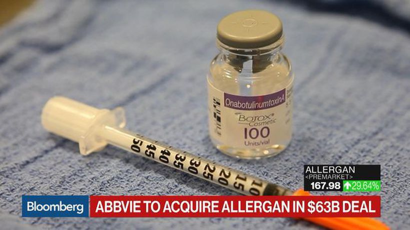 AbbVie to Purchase Botox Maker Allergan in $63 Billion Deal