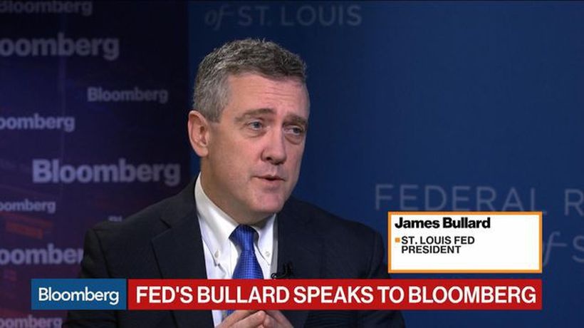 Bullard Says It Seems Like a Good Time for an Insurance Fed Rate Cut