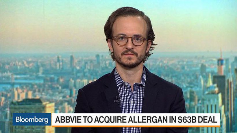 AbbVie Shares Tumble After $63 Billion Allergan Deal