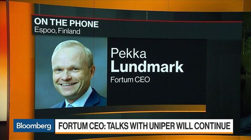 Fortum CEO: Would Be Stronger Working Closely With Uniper
