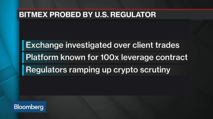 BitMEX Crypto Exchange Probed by U.S. Regulator Over Client Trades