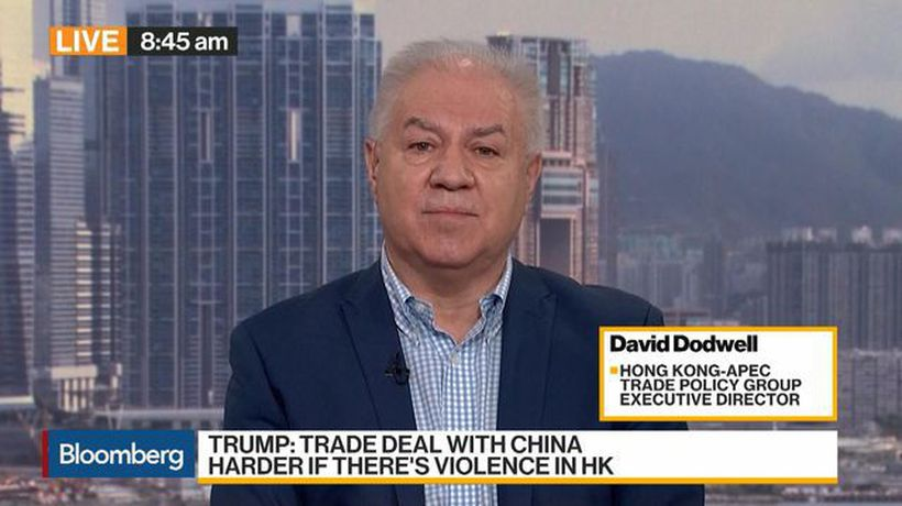 HK-APEC Trade Policy Group's Dodwell on Protest, U.S.-China Spat