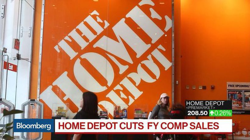 Home Depot Cuts Sales Outlook on Tariff Concerns