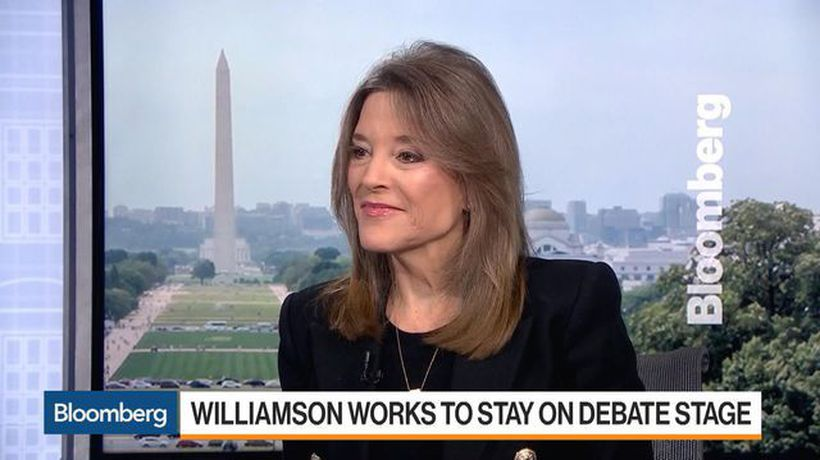 Dem. Pres. Candidate Williamson Says 'Absolutely' a Capitalist
