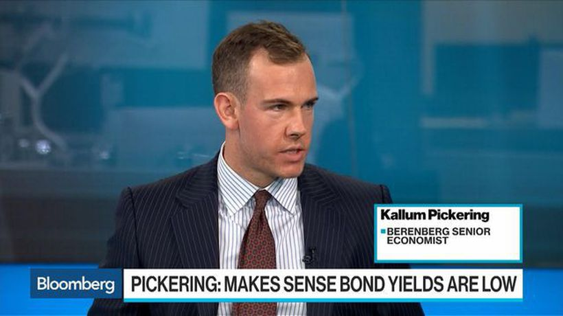 Pickering: It Makes Sense That Bond Yields Are Low