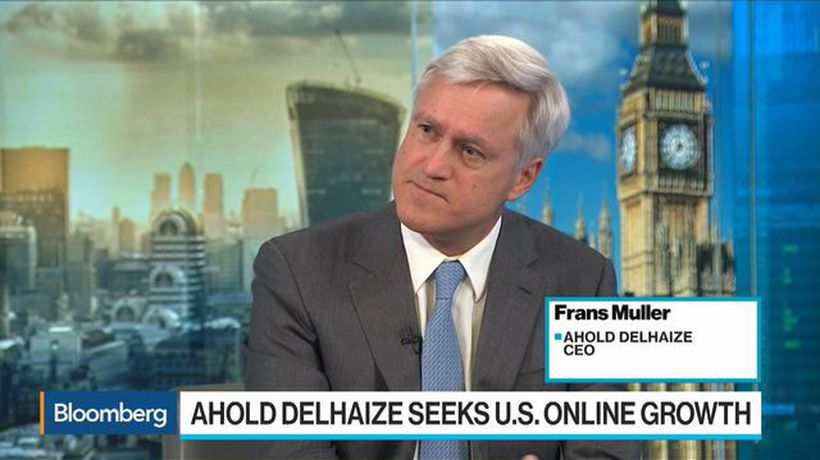Ahold Delhaize Seeks U.S. Online Growth, CEO Sees Grocery Consolidation