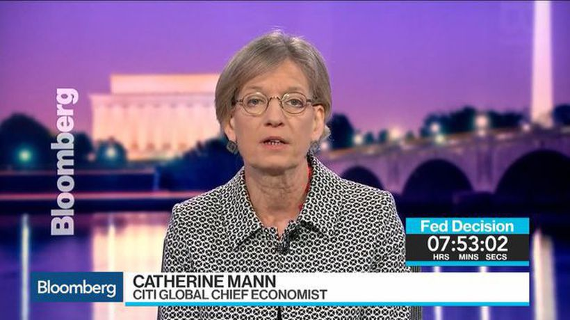 Citi Economist Mann: It Would Be 'Unfortunate' If Fed Moved to QE