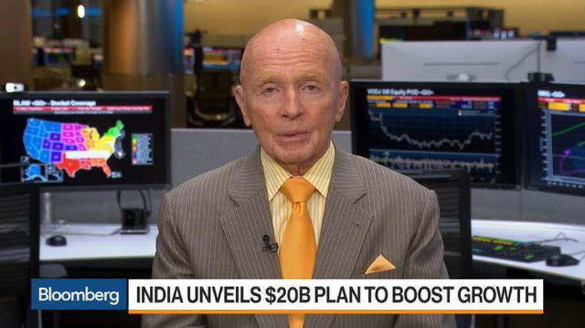 Mobius Says India's Tax Cut Is Brave and Will Do a Lot for the Economy