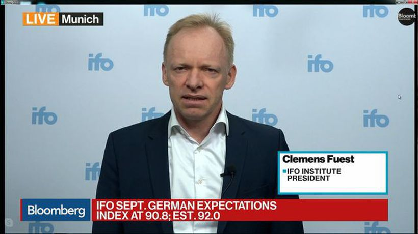 German Downturn Likely to Continue, Ifo's Fuest Says