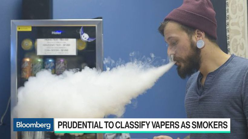 Prudential Hikes Life Insurance Prices for Vapers