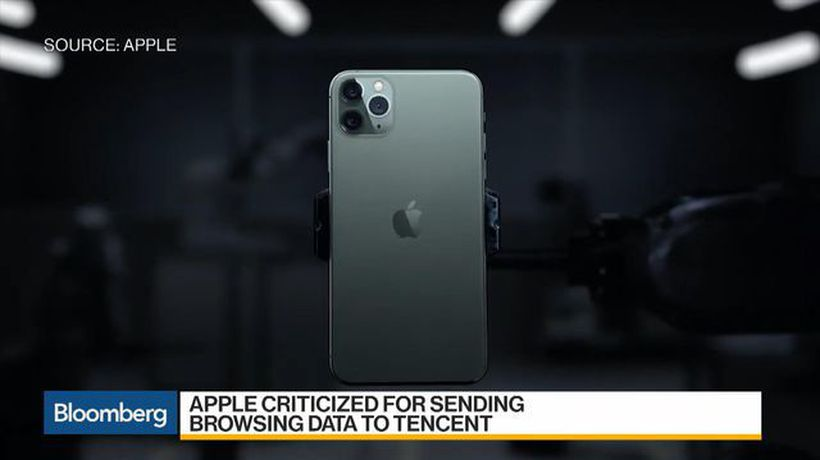 Apple Under Fire for Sending Web Browsing Data to Tencent