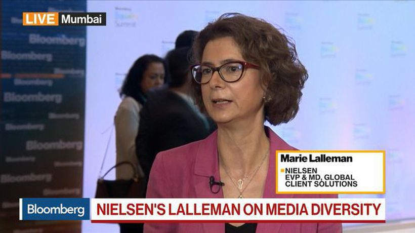 Nielsen's Lalleman Sees Progress on Number of Women Represented in Films