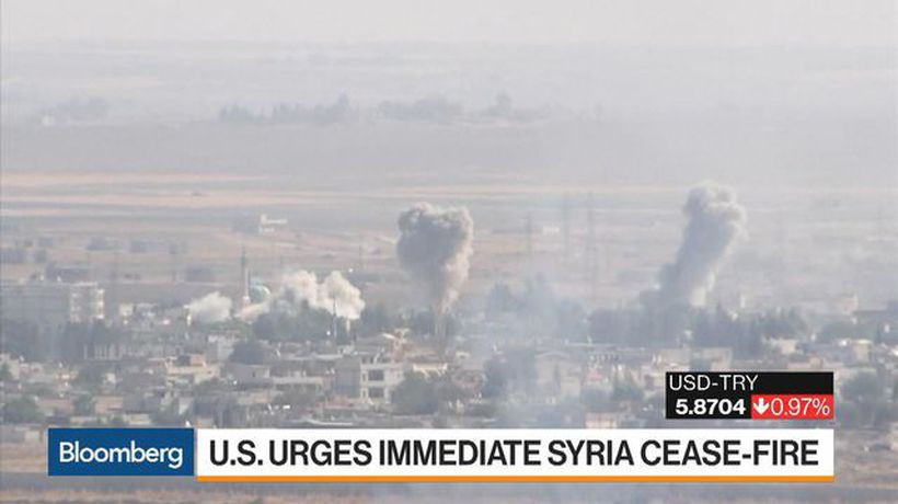 U.S. Urges Immediate Syria Cease-Fire