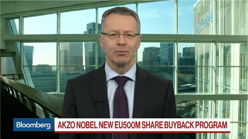 Akzo Nobel CEO on M&A, Buyback Plan, Q3 Earnings