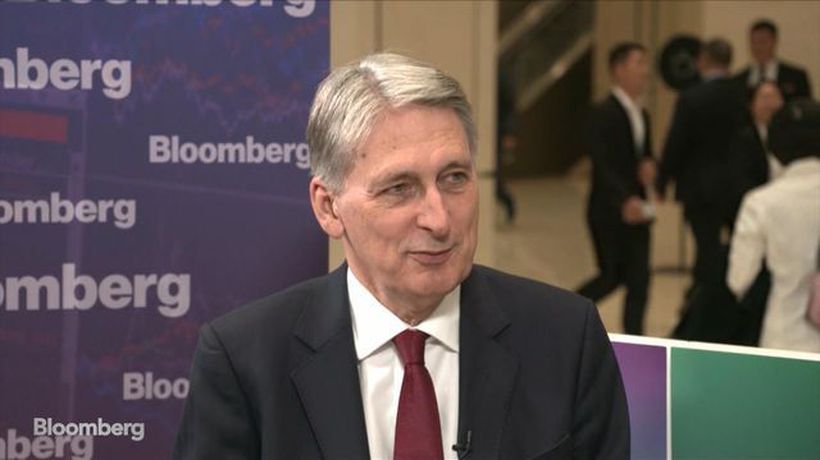 Former Chancellor of the Exchequer Hammond on UK Elections, Brexit and Trade Tensions