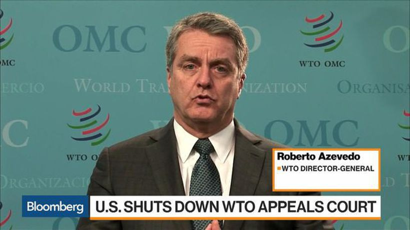 WTO Seeking Stopgap for Appeals Panel Loss, Director-General Says