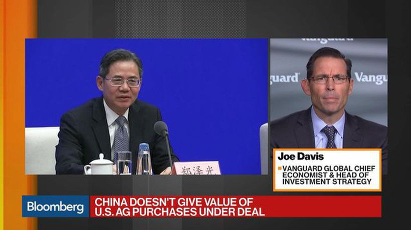 'Markets Could Get a Little Carried Away' With Trade Deal, Says Vanguard's Davis