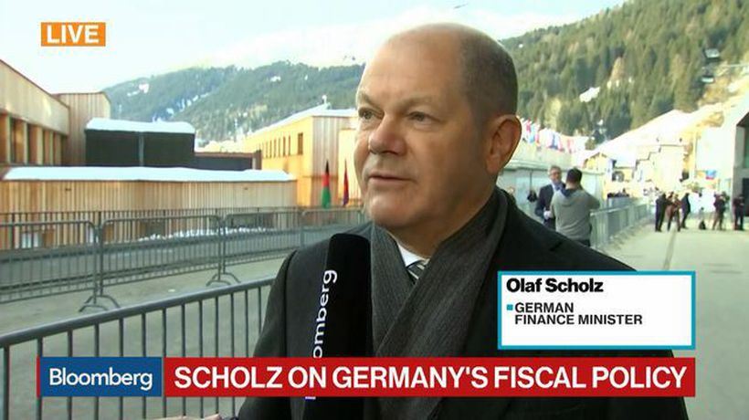 Germany Has 'Very Expansionary Fiscal Policy': Finance Minister Scholz