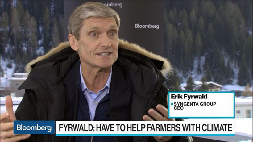 Syngenta CEO Fyrwald Says Farmers Need Help With Climate, Targets 2021 for IPO