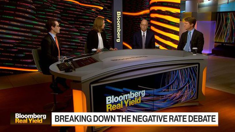The Negative Rate Debate