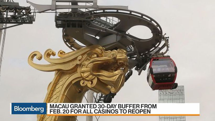 Macau Casinos Set to Reopen After Virus Shutdown