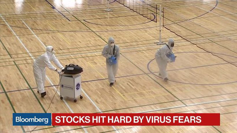 Stocks Hit Hard By Coronavirus Fears