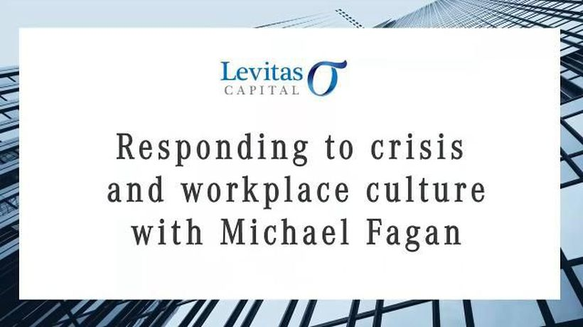 Responding to crisis and workplace culture with Michael Fagan