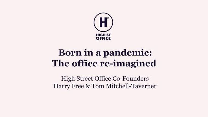 High Street Office: The office re-imagined