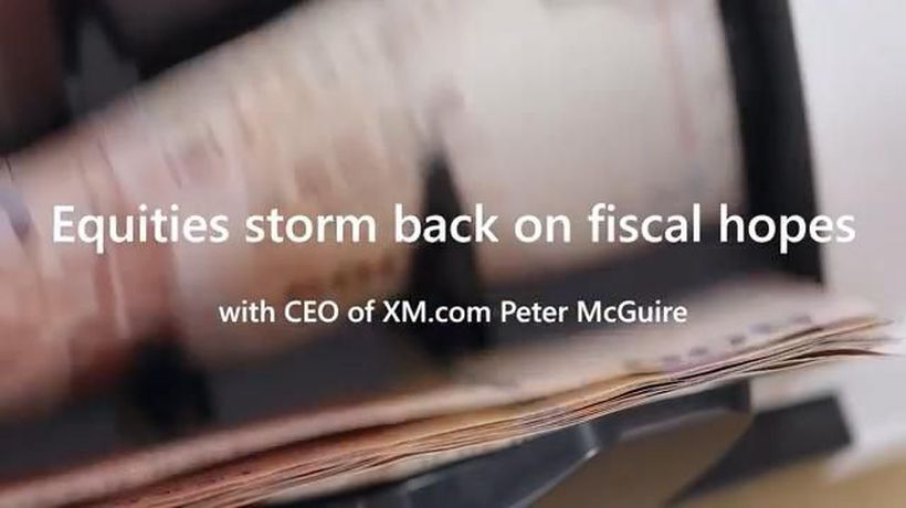 Equities storm back on fiscal hopes - Around the Markets with Peter McGuire